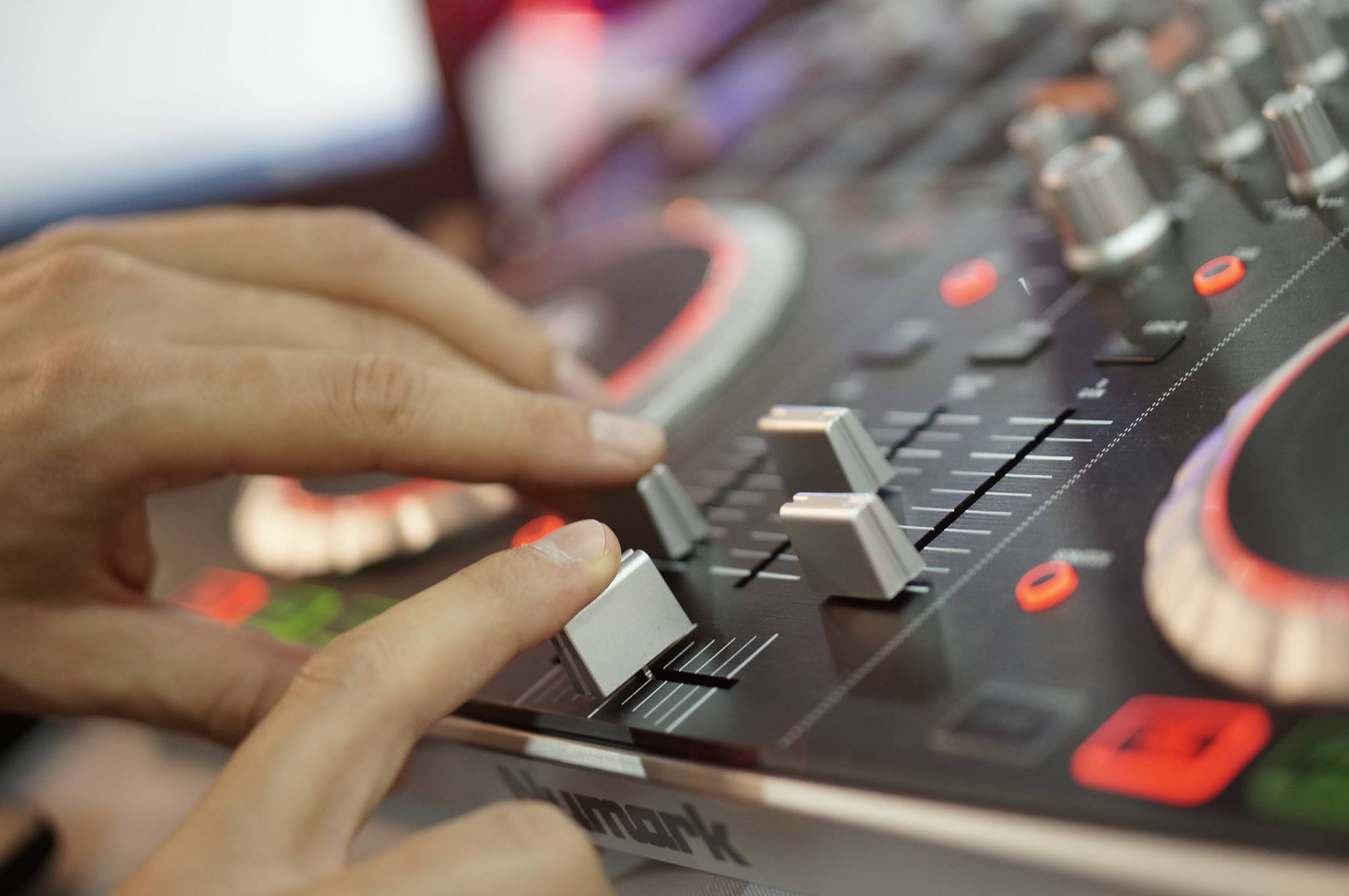 DJ na event